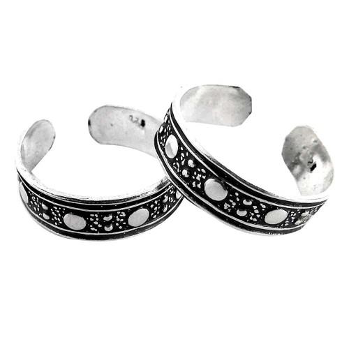 Kiss! 925 Sterling Silver Toe Rings