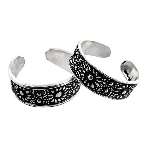 Summer Stock! 925 Sterling Silver Toe Rings