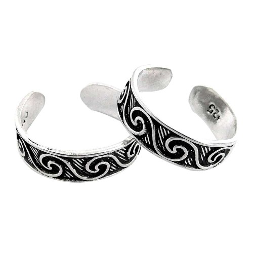 All Of Us!! 925 Sterling Silver Toe Rings