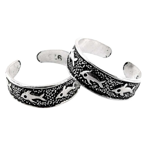 Gorgeous Design! 925 Sterling Silver Toe Rings