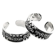 Island Fantasy! 925 Sterling Silver Toe Rings