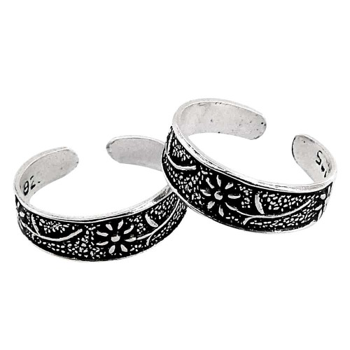 Beautiful! 925 Sterling Silver Toe Rings