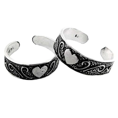 Antique Handmade!! 925 Sterling Silver Toe Rings