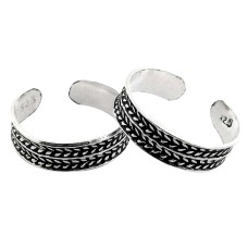 Delicate Light! 925 Sterling Silver Toe Rings