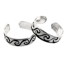Very Light! 925 Sterling Silver Toe Rings
