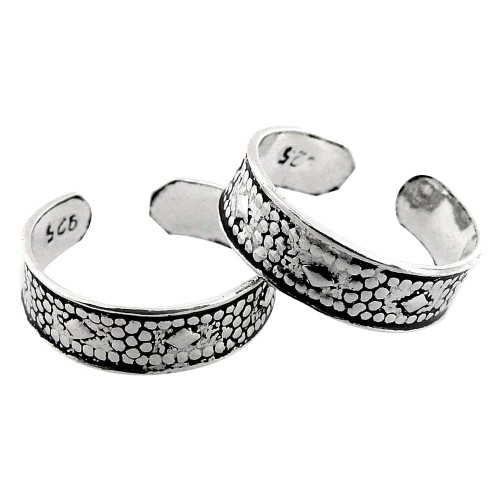 Paradise Bloom! 925 Sterling Silver Toe Rings