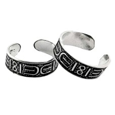 Awesome! 925 Sterling Silver Toe Rings