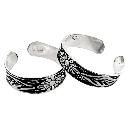 Big Love's Victory! 925 Sterling Silver Toe Rings