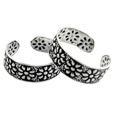 Big Fabulous! 925 Sterling Silver Toe Rings