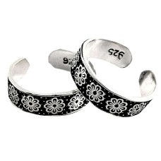 Mystic Princess! 925 Sterling Silver Toe Rings