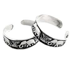 Spell! 925 Sterling Silver Toe Rings
