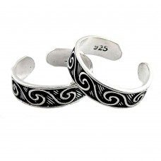Briliance! 925 Sterling Silver Toe Rings