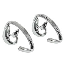 925 Sterling Silver Jewelry Fashion Handmade Toe Rings Supplier