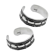 925 Sterling Silver Jewelry Ethnic Handmade Toe Rings Großhändler