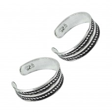 925 Sterling Silver Jewelry Traditional Handmade Toe Rings Lieferant