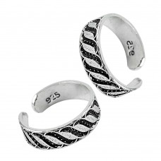 925 Sterling Silver Fashion Jewelry Charming Handmade Toe Rings Hersteller